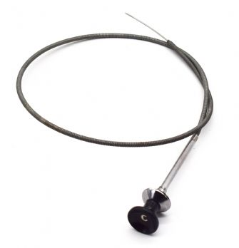 Choke Cable, Black Knob, 1955-1964, Willys Pick Up and Station Wagon