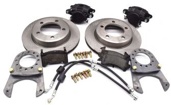 Jeep Disc Brake Conversion Kit, Dana 30, 1971-1976