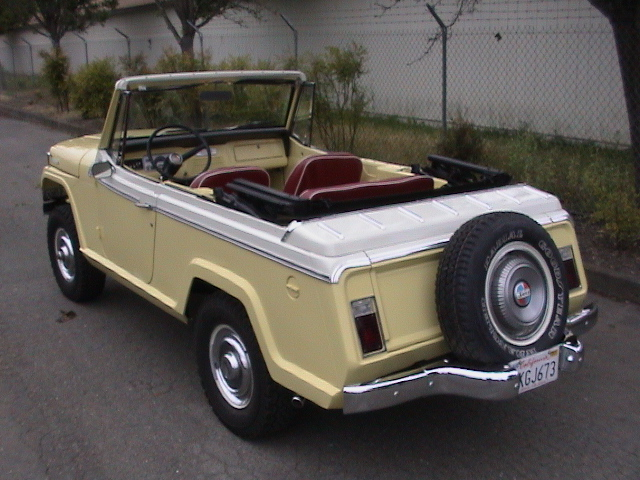 Commando and 4W Jeepster Parts