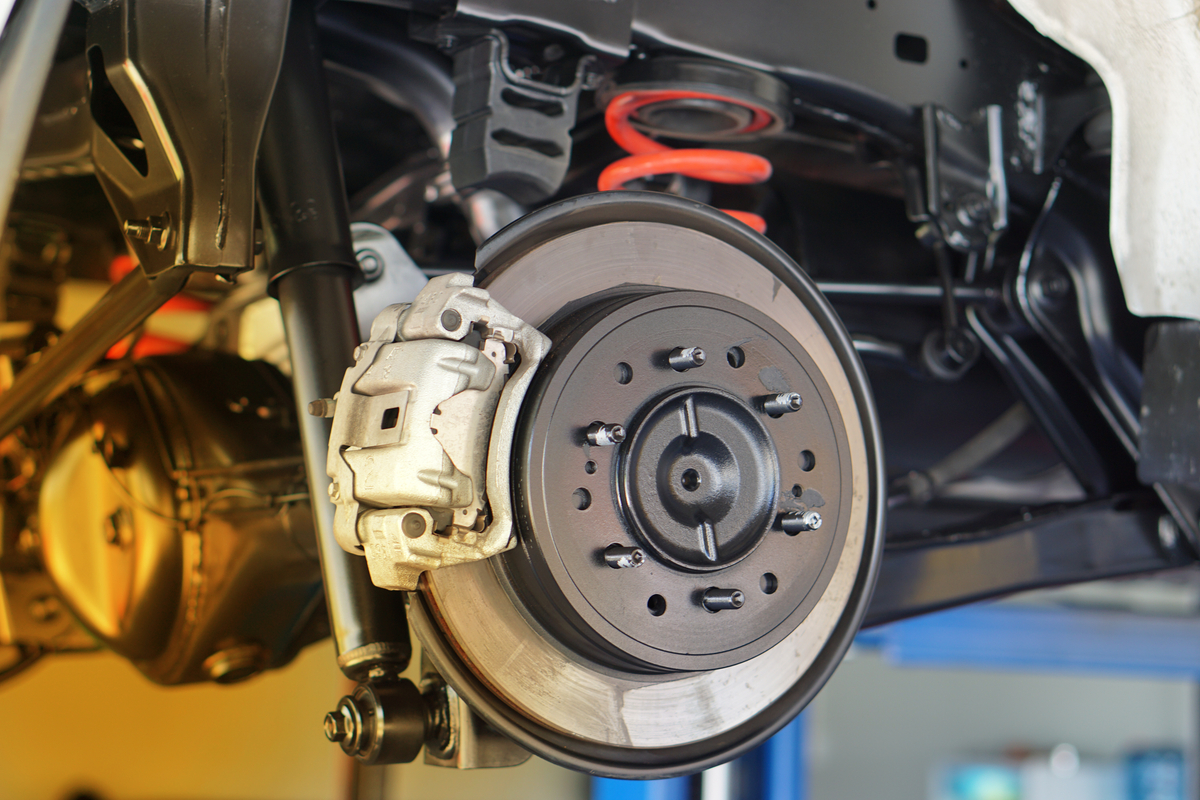 Jeep Disc Brake Conversion