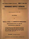Army Service Forces Catalog-Ordinance Supply Catalog