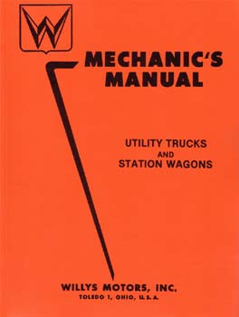 Mechanics Manual for Utility Truck and Station Wagon