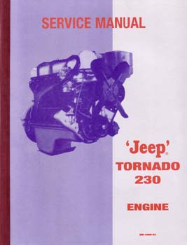 Service Manual - Jeep Tornado 230 Engine