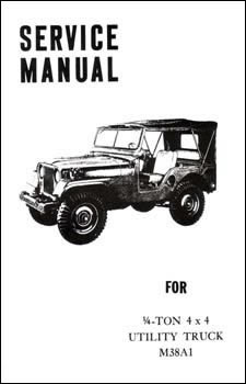 Service Manual for Quarter Ton 4x4 Utility Truck M38A1